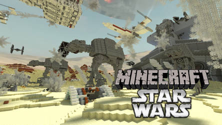 Minecraft Star Wars: Battle of Jakku
