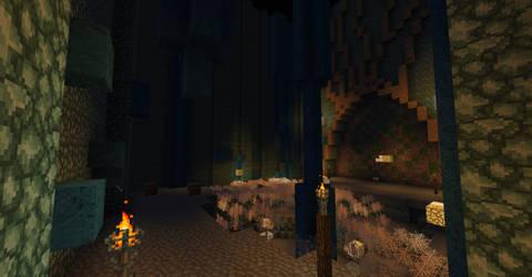 Minecraft Kingdom Hearts II: Underworld Caverns