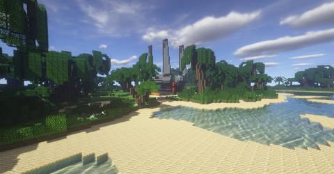 Minecraft StarWars: Scarif Landing Pad 13