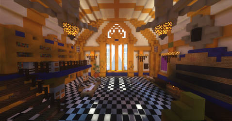 Minecraft Kingdom Hearts III - Chess Room