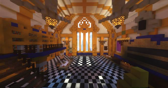 Minecraft Kingdom Hearts III - Chess Room