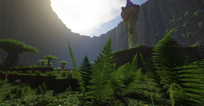 Minecraft Kingdom Hearts III - Rapunzel's Tower