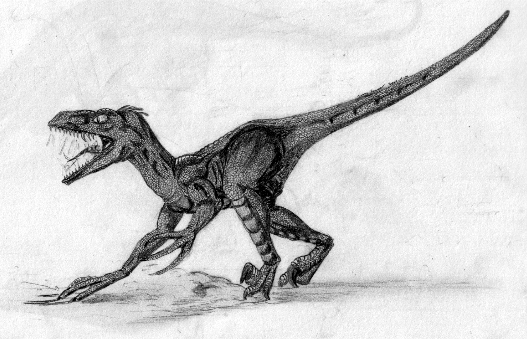 JP Velociraptor by kytjunon