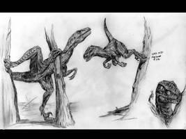 Raptors by kytjunon