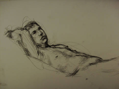 Life Drawing - Charcoal 01