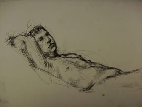 Life Drawing - Charcoal 01