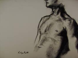 Life Drawing - Charcoal 02