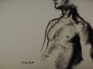 Life Drawing - Charcoal 02