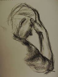 Life Drawing - Charcoal 04