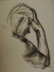 Life Drawing - Charcoal 04