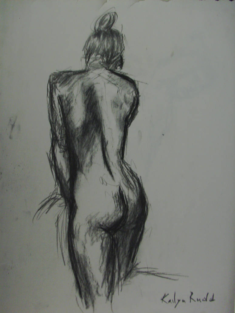 Life Drawing - Charcoal 06