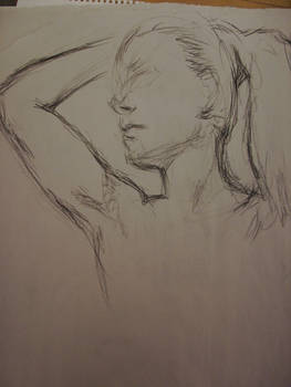 Life Drawing - Charcoal 07