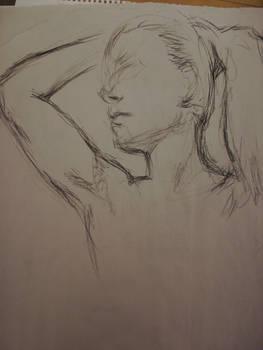 Life Drawing - Charcoal 07