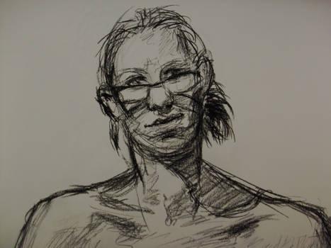 Life Drawing - Charcoal 09