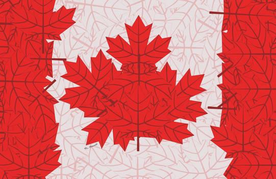2020 Canada Day Flag