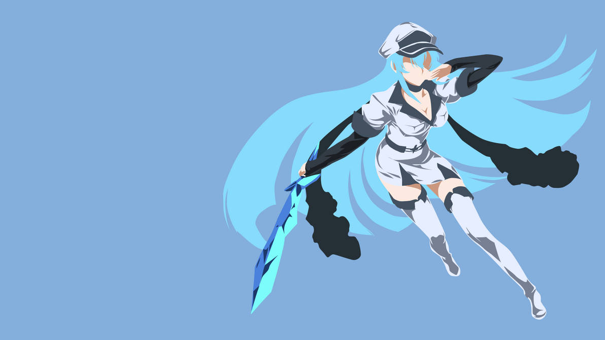 Esdeath Akame Ga Kill By Aho1225 On Deviantart