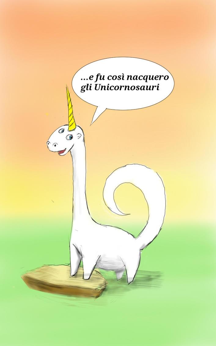 Unicornosauro by Pensierorumoroso