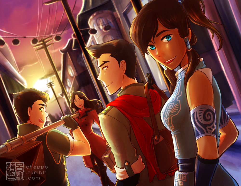 Defenders of Republic City by Cheppoly