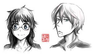 hairswap makisaka sketch