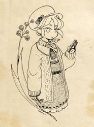 mori girl by Cheppoly