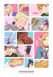 DUNGEON MESHI! by Cheppoly