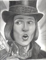 Willy Wonka by mattyrich
