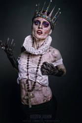 Queen of Sorrow by Vasile-Covaciu