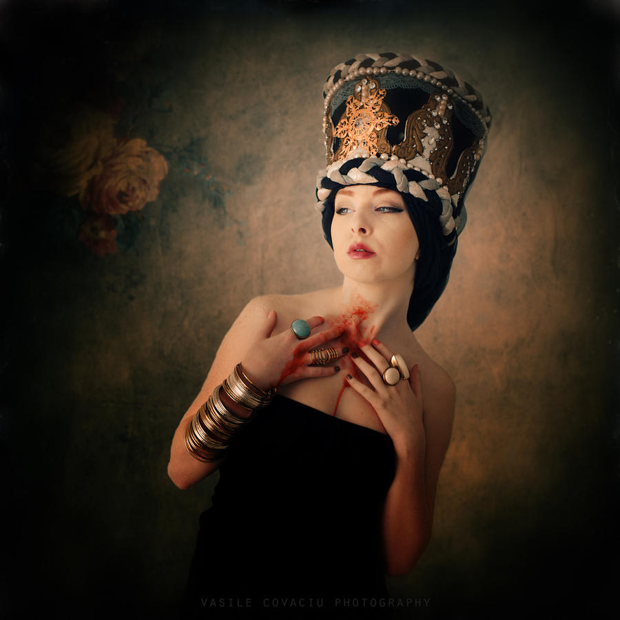 Princess of the emerald garden by Vasile-Covaciu