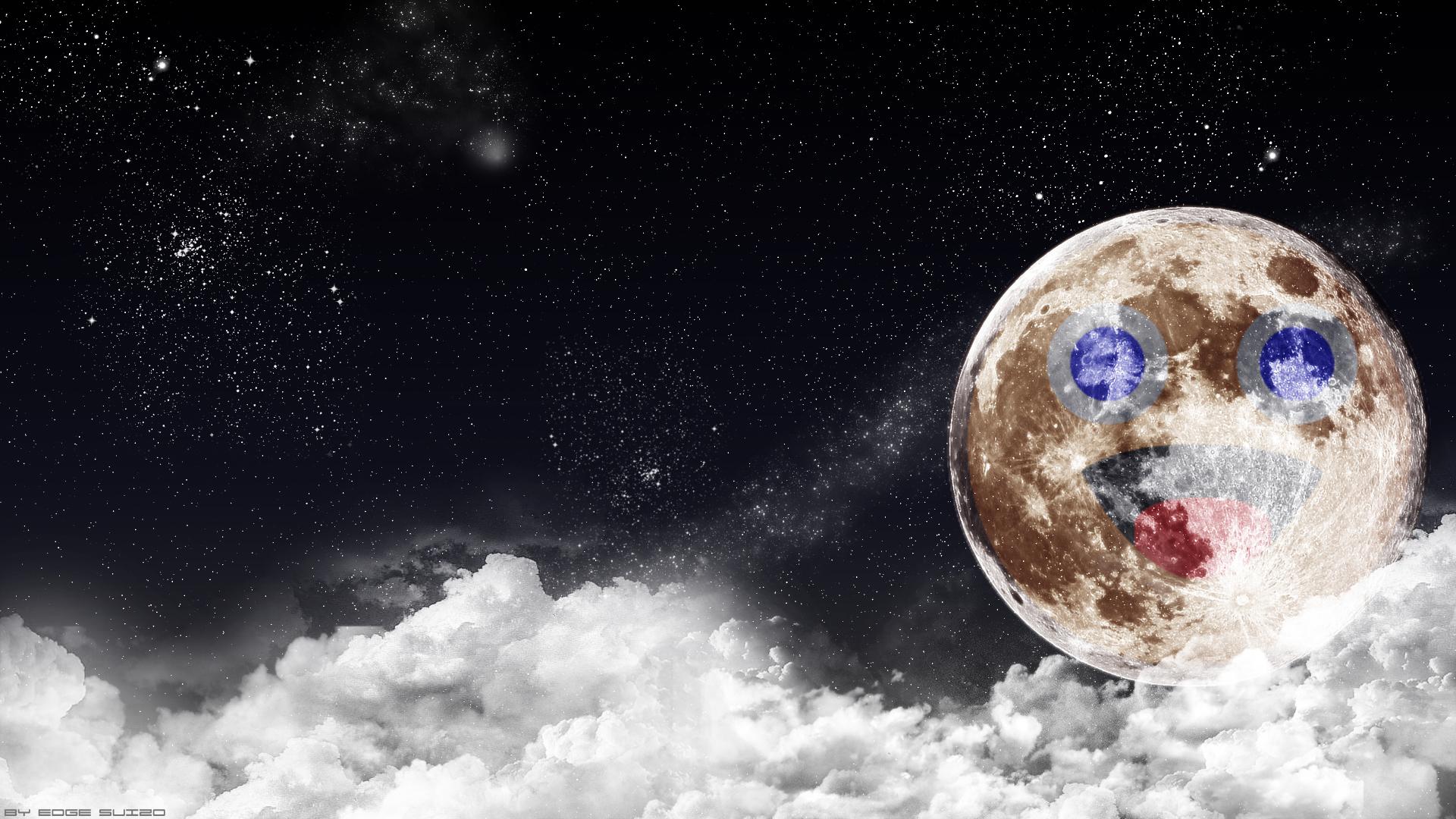 Zippy Moon Wallpaper by Edge-Suizo