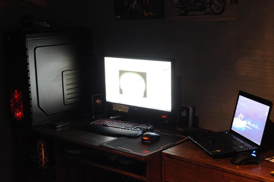 Mi escritorio de trabajo 2 by Edge-Suizo