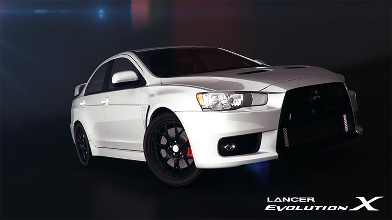 Lancer Evo X by Edge-Suizo