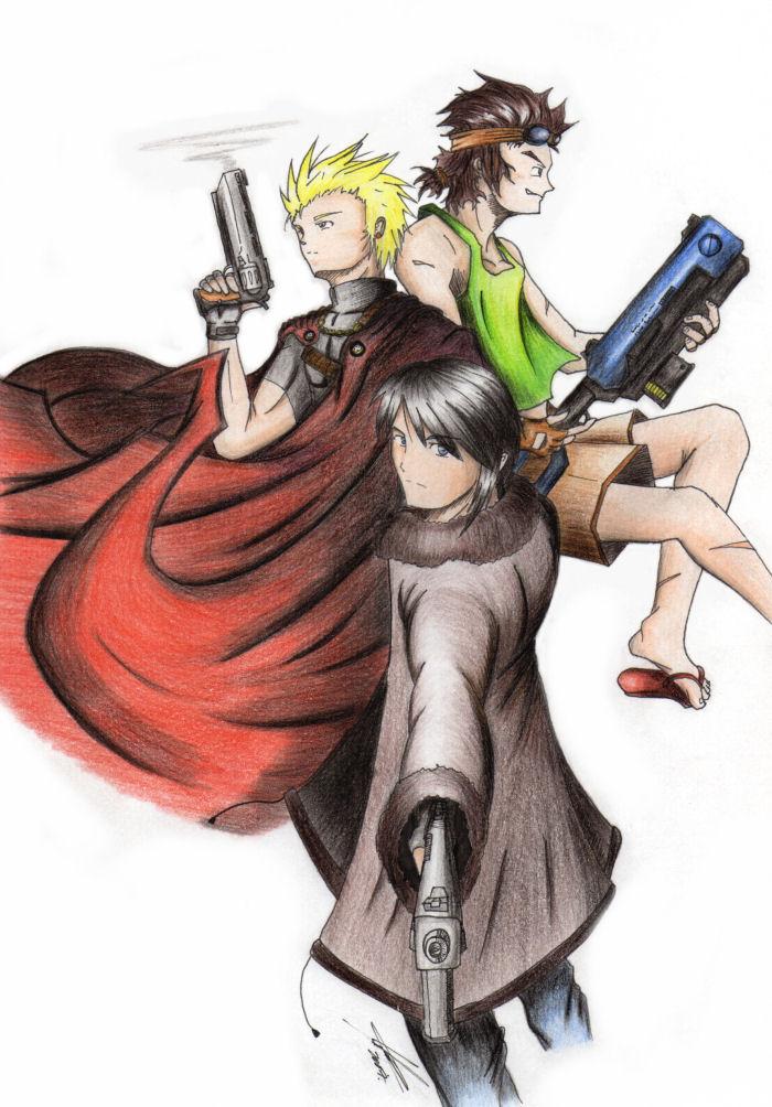 Los tres protectores by Edge-Suizo