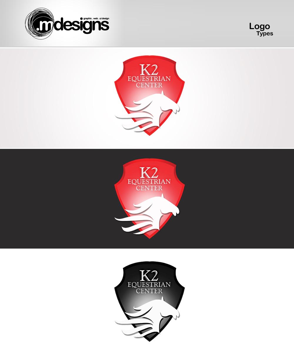 K2 Equestrian Centre Logo Type By Mdesigns59 On Deviantart