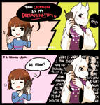 Flirting with Toriel
