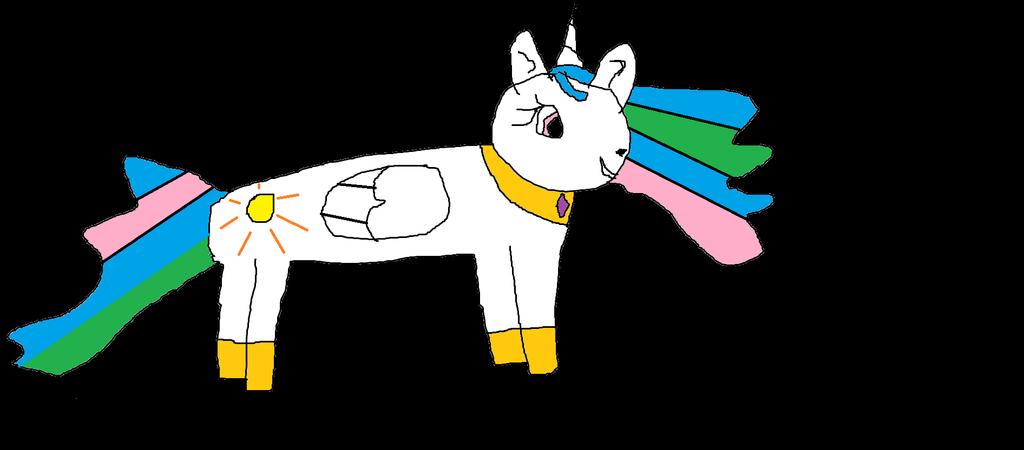 Princess Celestia fanart by Flutteranimal