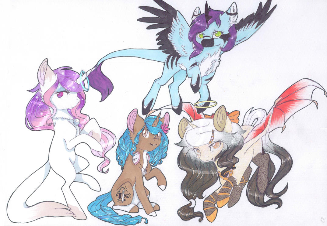 Unicorn Squad ~ Contest Entry by Emypony