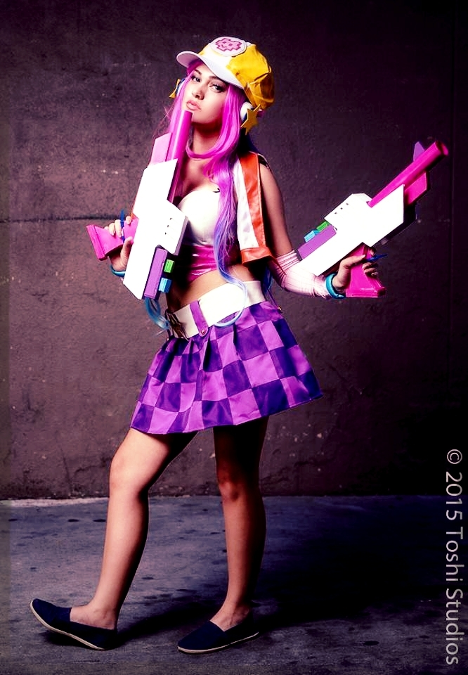 arcade miss fortune league of legends cosplay by captain