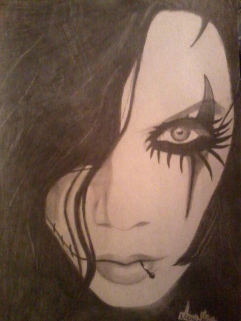 Andy Biersack of BVB by awkwarddino