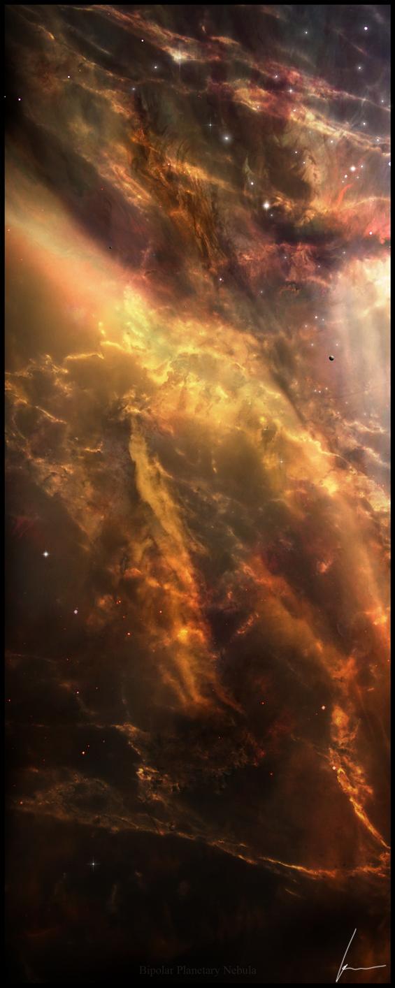 Bipolar Planetary Nebula by ChaserNNA