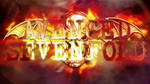 Avenged Sevenfold Wallpaper (speedpaint!)