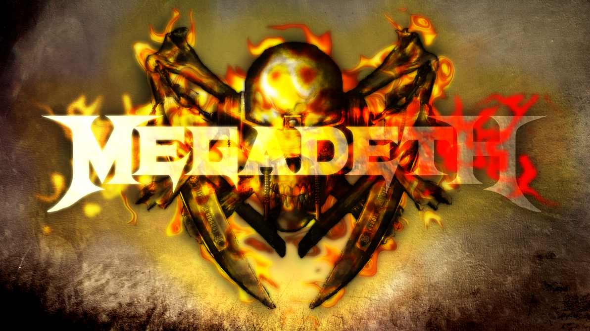 megadeth wallpaper with speedpaint by