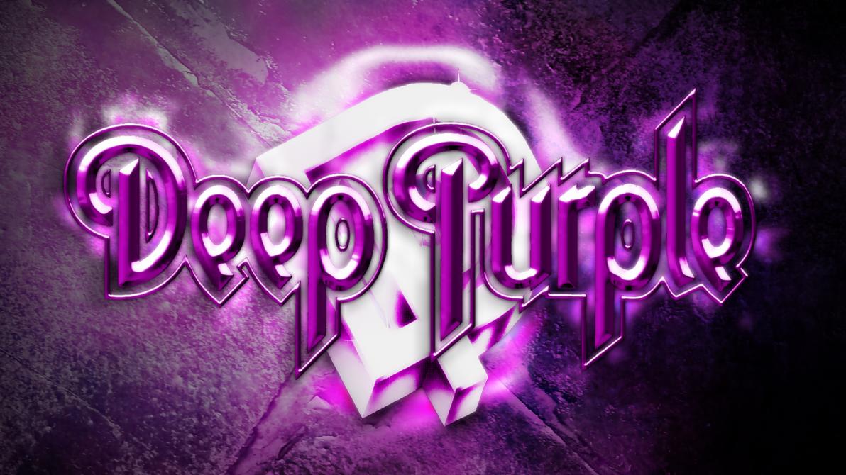 Deep Purple Wallpaper With Speedpaint By