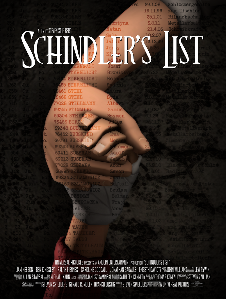 emotive aspects of schindlers list Schindler's list is an antidote to this kind of thinking, which is often driven by the same kind of anti-semitism that led to the genocide in the first place spielberg knew this was a story that had to be told because the number of survivors and witnesses to the genocide were dwindling fast.