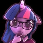 [SFM] [MLP] Twilight Sparkle Thinking Emoji