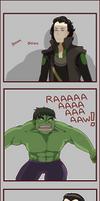 Loki vs Hulk SPOILER