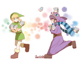 ALBW : Catching all Maiamai by ChocoHal