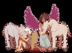Rhinoceros And Elephants by ChocoHal