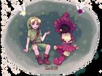 Majora's Mask: Link and Skull Kid
