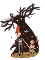 Over the Garden Wall by ChocoHal