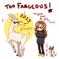 2015 Fabulous Goat! by ChocoHal